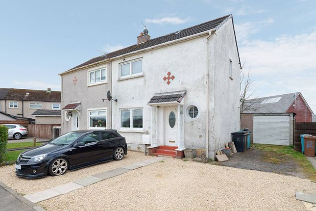 Thumbnail Semi-detached house for sale in Renfrew Place, Kirkwood, Coatbridge