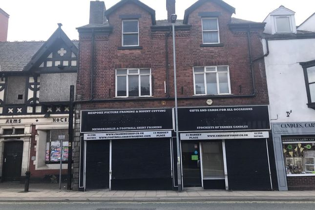 Retail premises to let in Market Place, Heywood