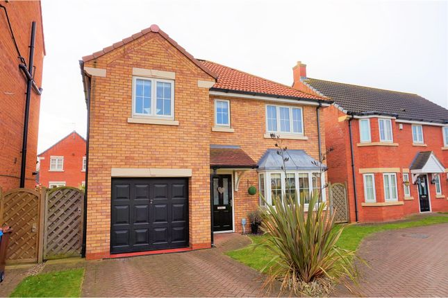 Thumbnail Detached house for sale in Pools Brook Park, Hull