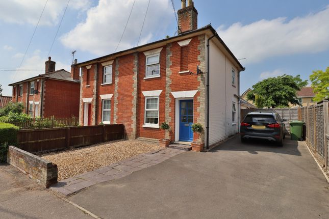 2 bed semi-detached house for sale in Shelfanger Road, Diss IP22