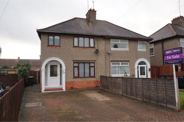 Thumbnail Semi-detached house for sale in Beverley Crescent, Northampton