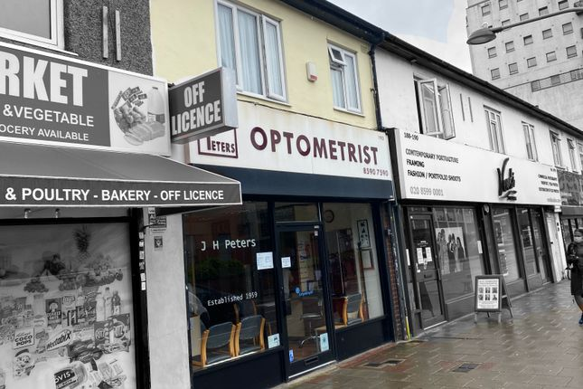 Thumbnail Retail premises for sale in High Road, Chadwell Heath
