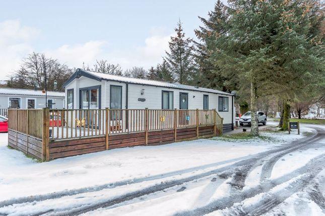 Thumbnail Lodge for sale in Glendevon Country Park, Glendevon, Dollar, Near Gleneagles