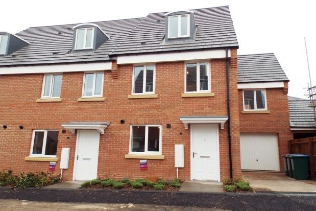 Thumbnail End terrace house to rent in Middlesex Road, New Stoke Village