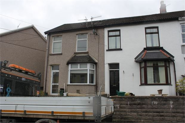 Thumbnail End terrace house to rent in Mikado Street, Penygraig, Rhondda Cynon Taff