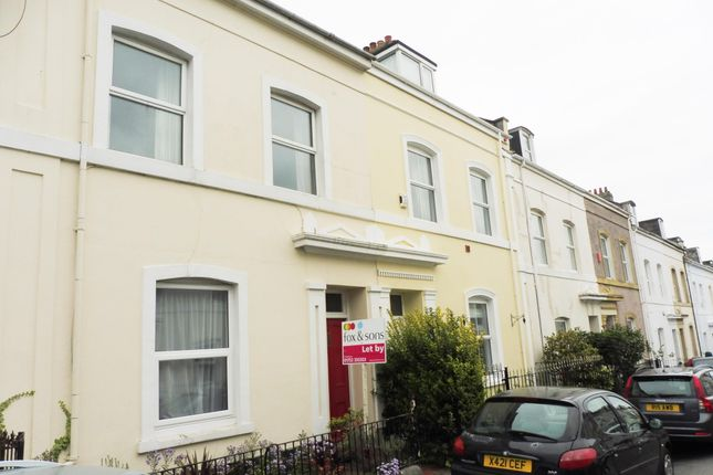 Thumbnail Flat to rent in Park Street, Stoke, Plymouth