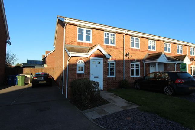 Thumbnail End terrace house to rent in Lychgate Close, Glascote, Tamworth