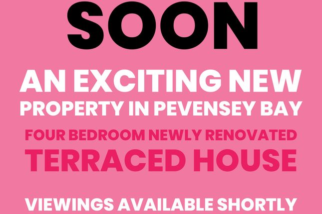Thumbnail Terraced house for sale in Timberlaine Road, Pevensey Bay