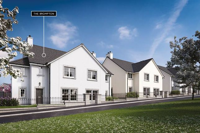 "Thumbnail Semi-detached house for sale in ""The Brompton"" at Danestone, Aberdeen"