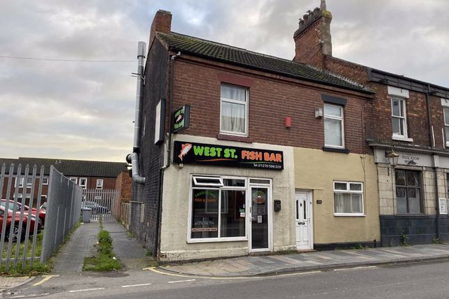 Thumbnail Restaurant/cafe to let in West Street, Crewe, Cheshire