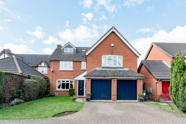 Thumbnail Detached house for sale in Coppice Grove, Lichfield