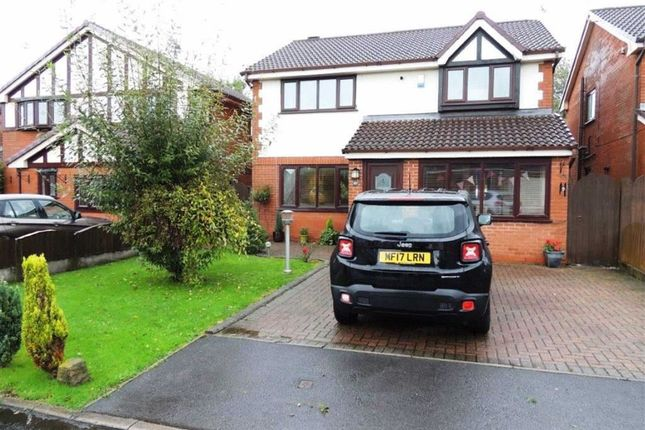 Thumbnail Detached house for sale in Saddle Grove, Littlemoss, Manchester