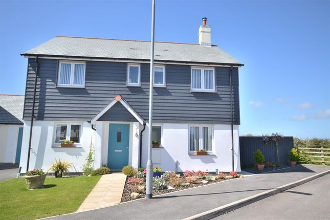 Thumbnail Link-detached house for sale in Higher Moor, Ruan Minor, Helston