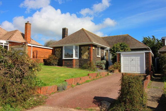Thumbnail Detached bungalow for sale in Chute Avenue, Worthing