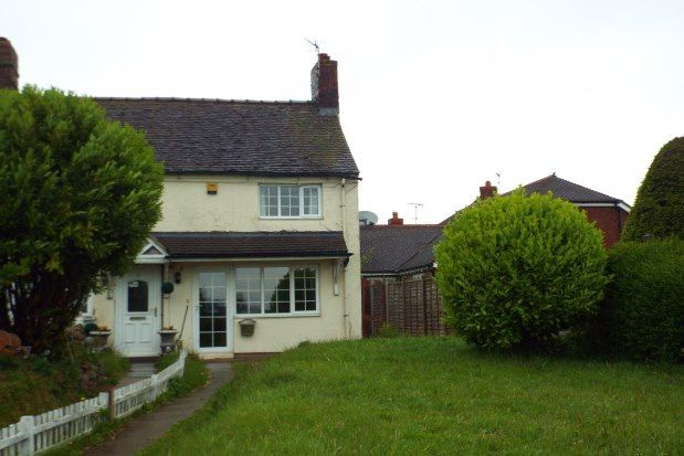 Thumbnail Cottage to rent in Field Cottages, Crewe
