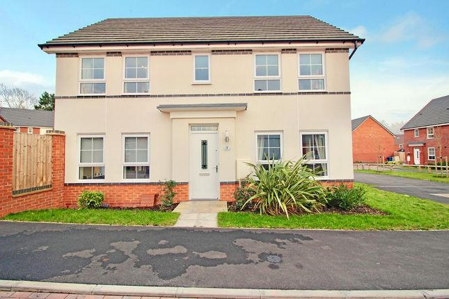 Thumbnail Detached house for sale in Colliford Drive, Yarnfield, Staffordshire
