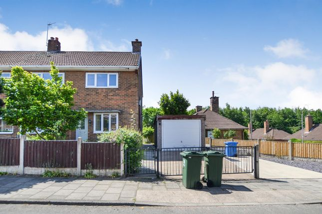 3 bed semi-detached house to rent in Robin Hood Avenue, Warsop, Mansfield NG20