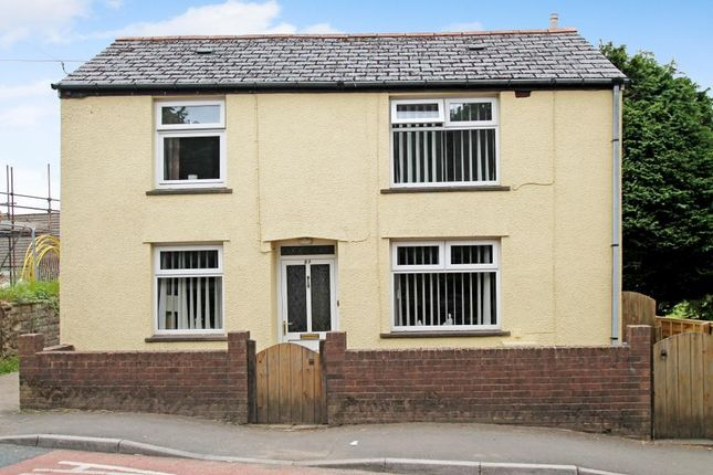 Thumbnail Detached house for sale in Beaufort Hill, Beaufort, Ebbw Vale, Blaenau Gwent