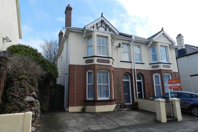 Thumbnail Semi-detached house for sale in Babbacombe Road, Torquay