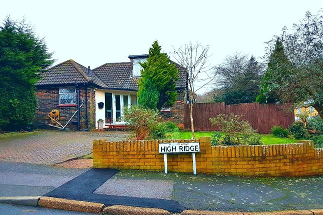 Thumbnail Detached bungalow for sale in High Ridge, Hythe