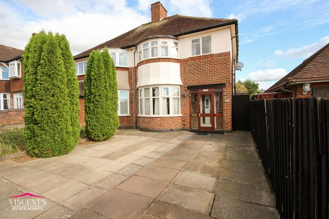 Thumbnail Semi-detached house for sale in Sybil Road, Rowley Fields, Leicester