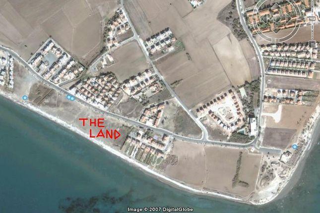 Thumbnail Land for sale in Pervolia, Perivolia Larnakas, Larnaca, Cyprus