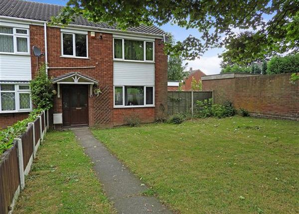 Thumbnail End terrace house for sale in Kings Road, Rushall, Walsall