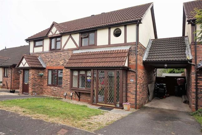 Thumbnail Semi-detached house for sale in Llys Gwyn Faen, Swansea