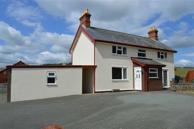 Thumbnail Detached house to rent in Red House, Kerry, Newtown, Powys