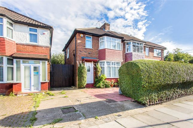 3 bed semi-detached house for sale in Pennine Drive, London