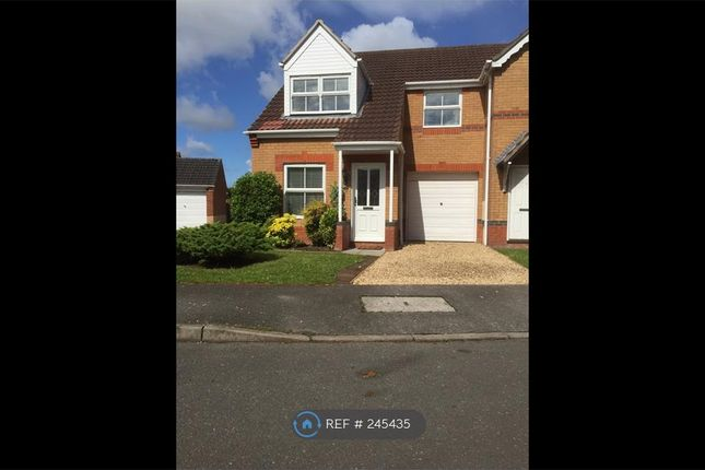 Thumbnail Semi-detached house to rent in Briar Close, Lincoln