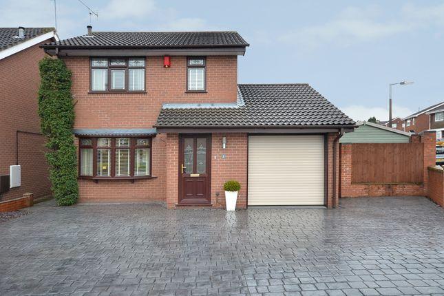 Thumbnail Detached house for sale in Blakeney Avenue, Westbury Park, Newcastle-Under-Lyme