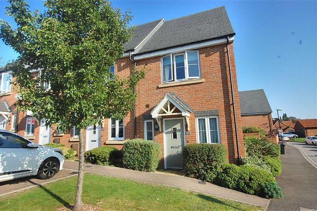 Thumbnail End terrace house for sale in Pembridge Gardens, Bragbury End, Stevenage, Herts