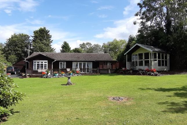 Thumbnail Detached bungalow for sale in Luston, Herefordshire
