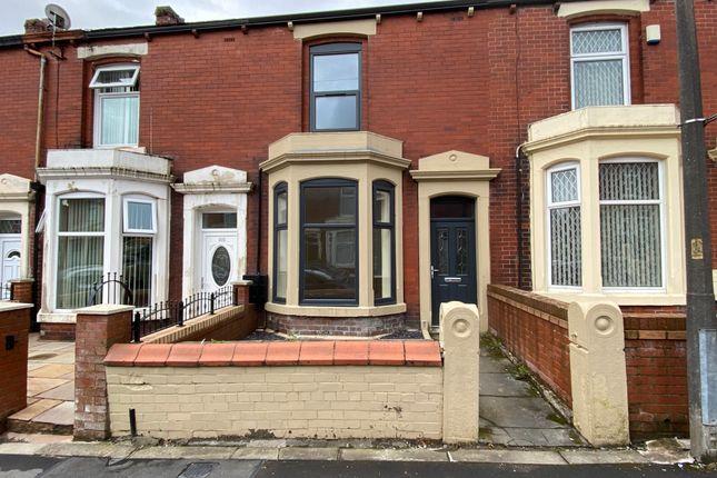 Thumbnail Terraced house to rent in Leamington Road, Blackburn