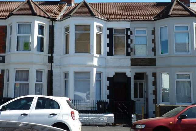Thumbnail Terraced house to rent in Dogfield Street, Cardiff