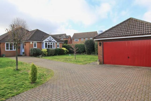 Thumbnail Detached bungalow for sale in Gardner Close, Great Kingshill, High Wycombe