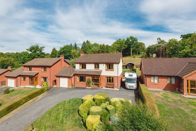 Thumbnail Detached house for sale in Lea Haven, Cefnllys Lane, Llandrindod Wells