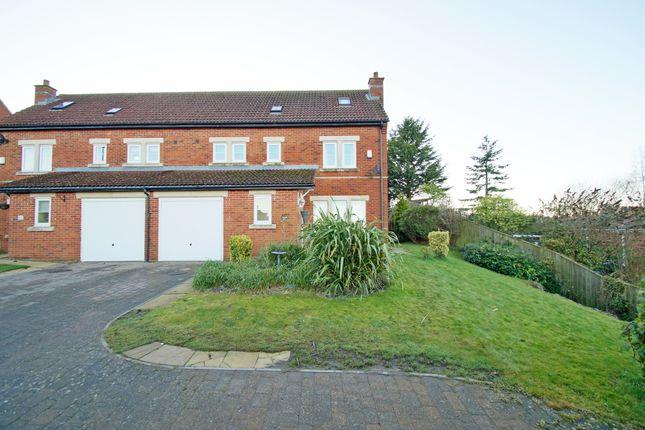 Thumbnail Semi-detached house for sale in Hillgarth, Castleside, Consett