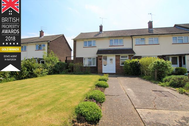 Thumbnail End terrace house for sale in Vaughan Williams Road, Basildon