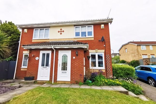 Thumbnail Semi-detached house for sale in Emanuel Close, Caerphilly