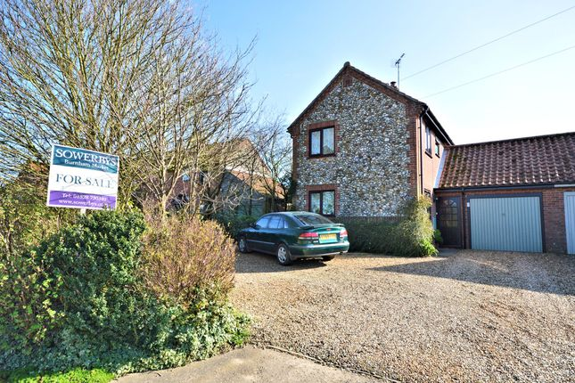 Thumbnail Link-detached house for sale in Brancaster Road, Docking, King's Lynn
