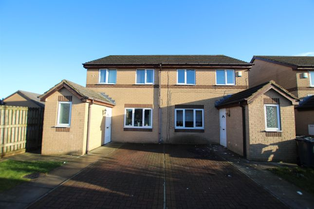 Thumbnail Semi-detached house to rent in Warton Avenue, Bierley, Bradford