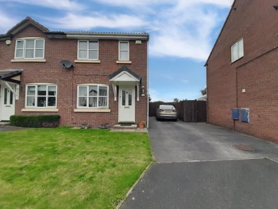 Thumbnail Semi-detached house for sale in Larkin Close, New Ferry, Wirral
