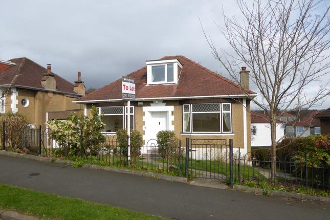 Thumbnail Bungalow to rent in 18 Keystone Quadrant, Milngavie, Glasgow