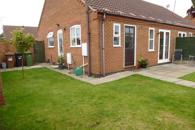 Thumbnail Semi-detached bungalow for sale in Thomas Drew Close, Dersingham, King's Lynn