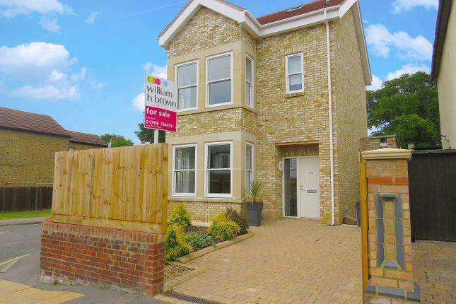 Thumbnail Detached house for sale in Manor Road, Gidea Park, Romford