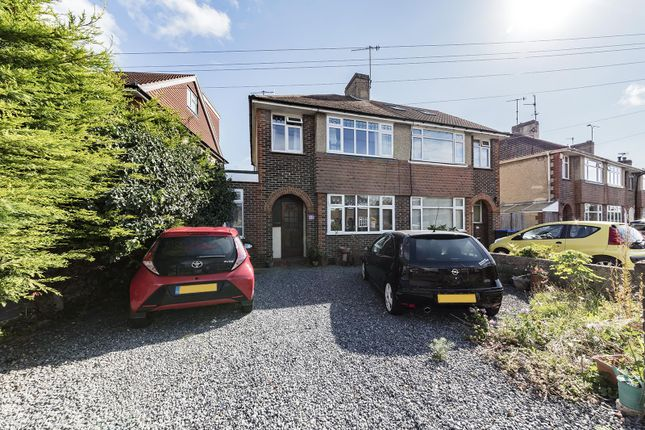 Thumbnail Semi-detached house for sale in Canterbury Road, Worthing