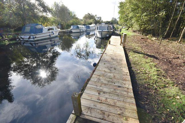 Thumbnail Land for sale in Nobbs Loke, Wayford Bridge