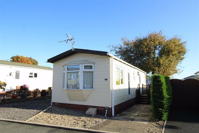 Thumbnail Mobile/park home for sale in Ellis Drive, Llay, Wrexham